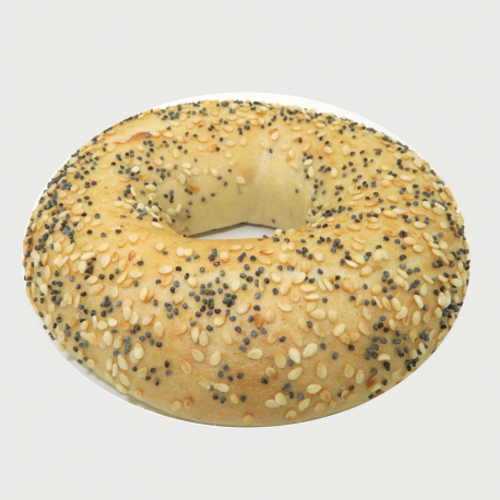 Bagel Everything (sésame-pavot-oignons)
