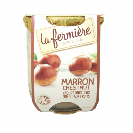 Yoghourt marron