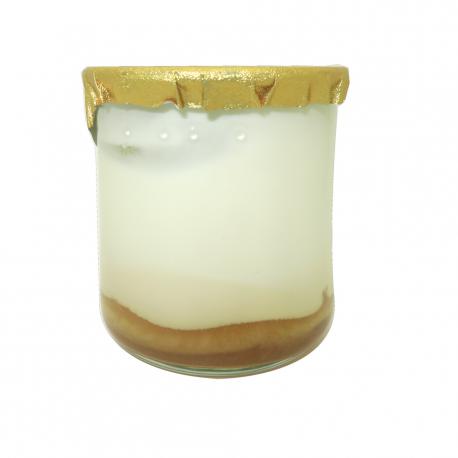 Caramel and salty butter yogurt