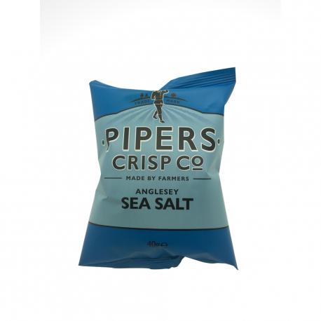 """Sea Salt """"REAL"""" English chips"""