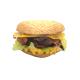 """Le """"Yummy breakfast"""", Oeuf, bacon, cheddar (Bagel sésame)"""